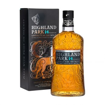 Highland Park 14y Loyalty of the Wolf Single Malt Scotch Whisky 100cl