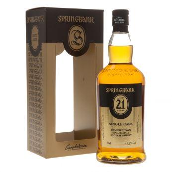 Springbank 21y Single Cask 2016 Release 70cl