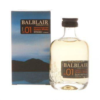 Balblair 2001 Miniature 5cl