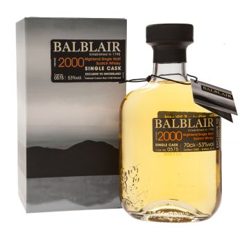 Balblair 2000 Cask#575 Exclusive to Switzerland 70cl
