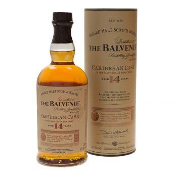Balvenie 14y Caribbean Cask Single Malt Scotch Whisky 70cl