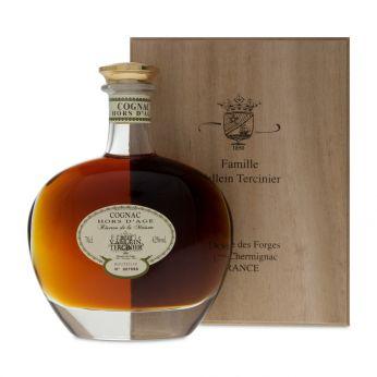 Vallein-Tercinier Hors d'Age Cognac Reserve de la Maison Helios Karaffe in Holzkiste 70cl
