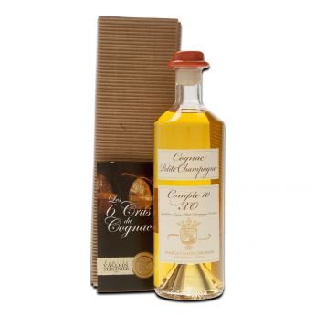 Vallein-Tercinier Compte 10 XO Petite Champagne 50cl