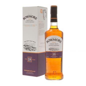Bowmore 18y Islay Single Malt Scotch Whisky 70cl