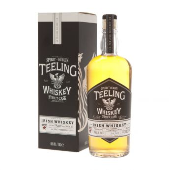 Teeling Stout Cask Galway Bay Small Batch Collaboration Blended Irish Whiskey 70cl