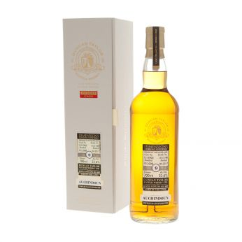 Auchindoun 2008 9y Cask#131390 Dimensions Collection Duncan Taylor 70cl