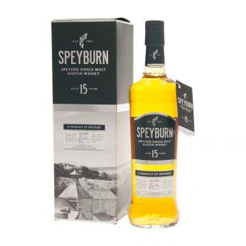 Speyburn 15y Single Malt Scotch Whisky 70cl