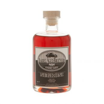 Negroni Barrel Aged Brothers 50cl