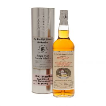 Macallan 1997 19y Cask#12/2 The Un-Chillfiltered Collection Waldhaus am See Signatory 70cl
