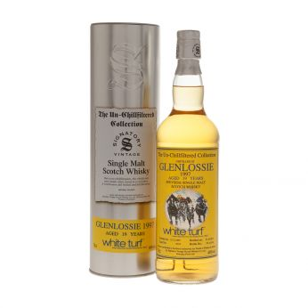 Glenlossie 1997 19y Cask#6772 The Un-Chillfiltered Collection White Turf Signatory 70cl