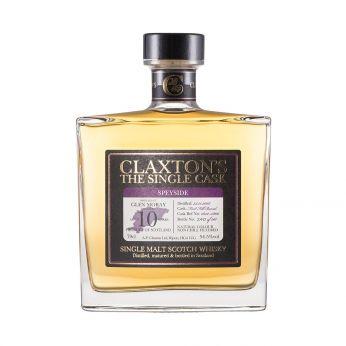 Glen Moray 2007 10y Cask#1832-5800 Claxton 70cl
