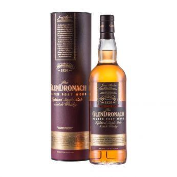 GlenDronach Peated Port Wood Single Malt Scotch Whisky 70cl