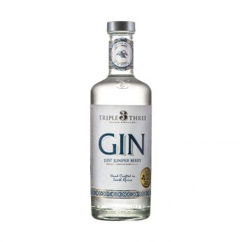 Triple Three Gin Just Juniper Berry 50cl