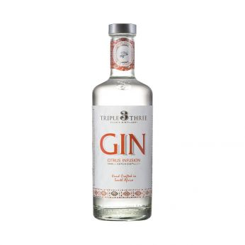 Triple Three Gin Citrus Infusion 50cl