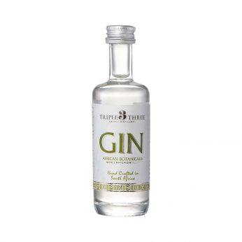 Triple Three Gin African Botanicals Miniature 5cl