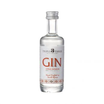 Triple Three Gin Citrus Infusion Miniature 5cl