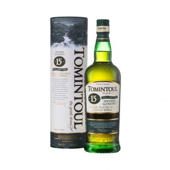 Tomintoul 15y with a Peaty Tang Single Malt Scotch Whisky 70cl