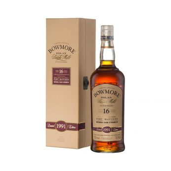 Bowmore 1991 16y Port Matured 70cl