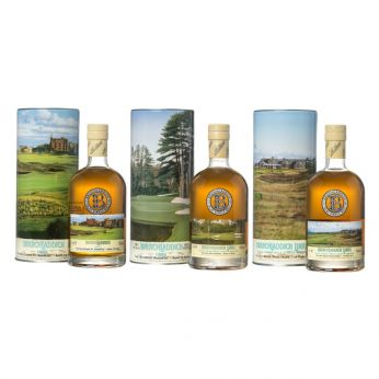 Bruichladdich Links Complete Series I - XI 11x70cl