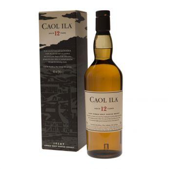 Caol Ila 12y Islay Single Malt Scotch Whisky 70cl