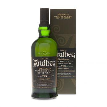 Ardbeg Ten 10y Islay Single Malt Scotch Whisky 70cl