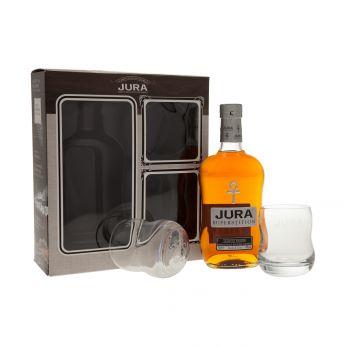 Jura Superstition Geschenkpackung mit 2 Gläsern 70cl