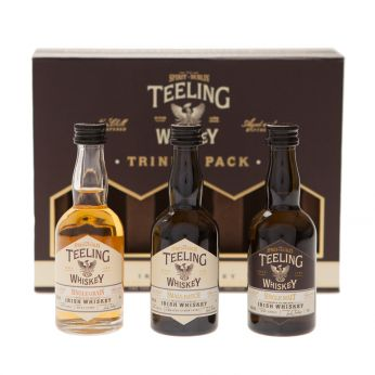 Teeling Trinity Pack 3x5cl Single Malt, Single Grain, Small Batch 15cl