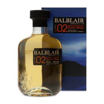 Balblair 2002 1st Release bot.2012 70cl