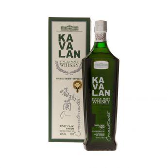 Kavalan Concertmaster Port Cask Finish Single Malt Taiwanese Whisky 70cl