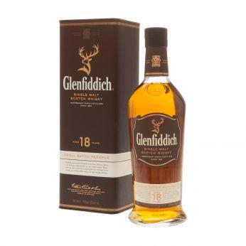 Glenfiddich 18y Small Batch Reserve Single Malt Scotch Whisky 70cl