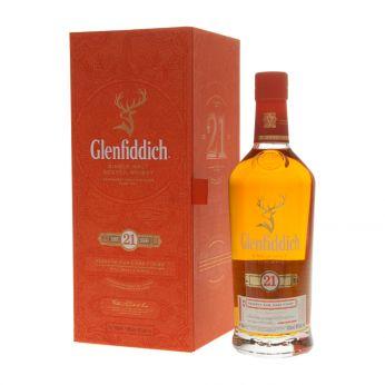 Glenfiddich 21y Reserva Rum Cask Finish Single Malt Scotch Whisky 70cl