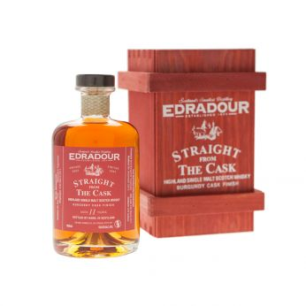 Edradour 2002 11y Burgundy Finish Straight from the Cask 50cl