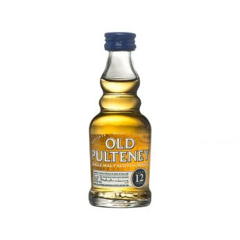 Old Pulteney 12y Miniature Single Malt Scotch Whisky 5cl