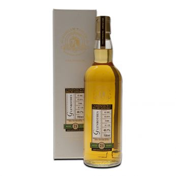 Glenrothes 1992 21y Cask#31868 Dimensions Collection Duncan Taylor 70cl