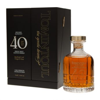 Tomintoul 40y Single Malt Scotch Whisky 70cl