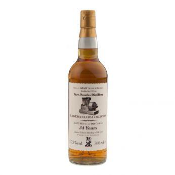 Port Dundas 1978 34y Single Grain Jack Wiebers Auld Distillers Collection 70cl