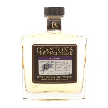 Glentauchers 1996 18y Cask#1502-7884 Claxton 70cl
