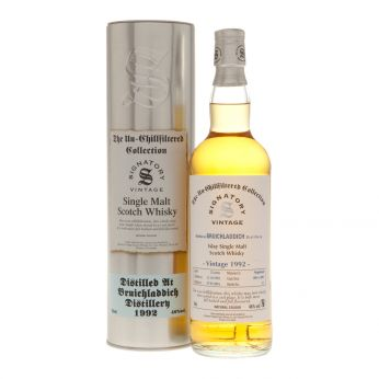 Bruichladdich 1992 23y Casks#3093,3095 The Un-Chillfiltered Collection Signatory 70cl