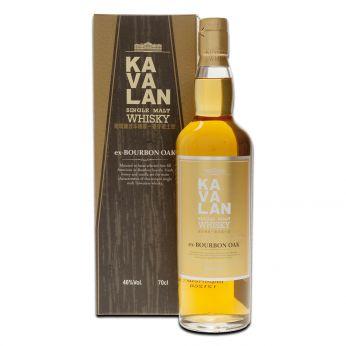 Kavalan Ex-Bourbon Oak Single Malt Taiwanese Whisky 70cl