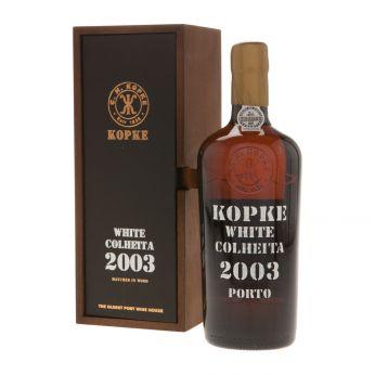 Kopke Colheita White Port 2003 75cl