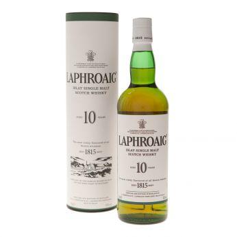 Laphroaig 10y Islay Single Malt Scotch Whisky 70cl