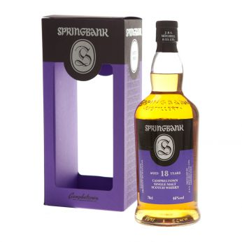 Springbank 18y Single Malt Scotch Whisky 70cl