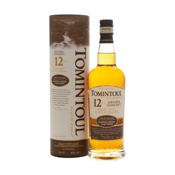 Tomintoul 12y Sherry Cask Single Malt Scotch Whisky 70cl