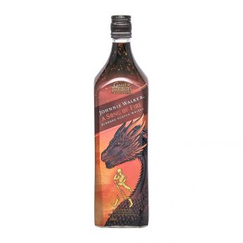 Johnnie Walker A Song of Fire Game of Thrones Special Edition Blended Scotch Whisky 100cl