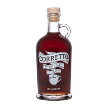 Marzadro Corretto Liquore di Caffe Kaffeelikör auf Grappa-Basis 70cl