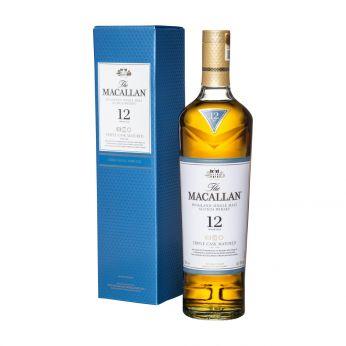 Macallan 12y Triple Cask Fine Oak Single Malt Scotch Whisky 70cl