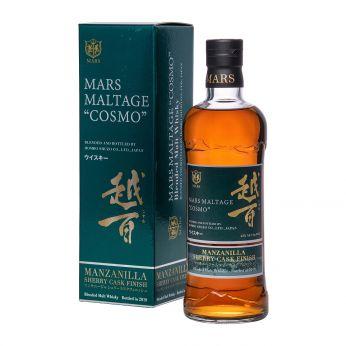 Mars Maltage Cosmo Manzanilla Sherry Finish Blended Malt Japanese Whisky 70cl