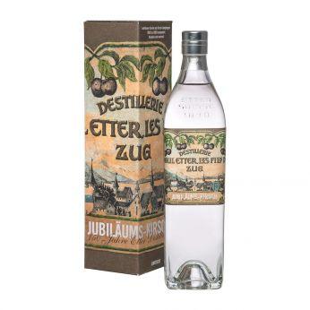 Etter Jubiläums-Kirsch 150 Jahre Etter Destillerie Retroflasche 70cl