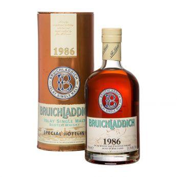 Bruichladdich 1986 Sherry Butt #539 60th Birthday of Berthold Pluznik 70cl