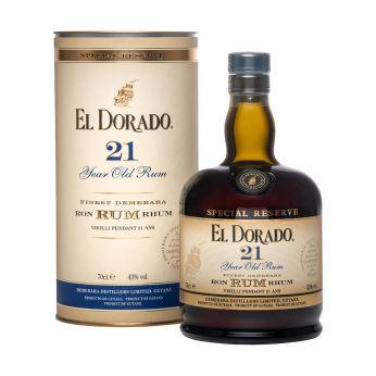 El Dorado 21y Special Reserve Demerara Rum 70cl
